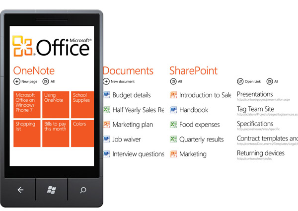 Office для Windows Mobile